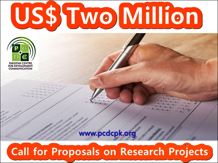 US$ Two Million funding opportunity for NGOs, research organizations, consulting firms, universities, and academic institutions and public sector organizations.